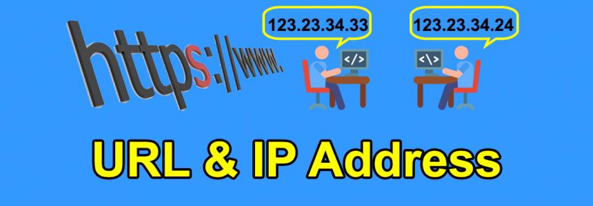 চতুর্থ অধ্যায় পাঠ-৩: আইপি অ্যাড্রেস এবং URL এর বিভিন্ন অংশসমূহ।